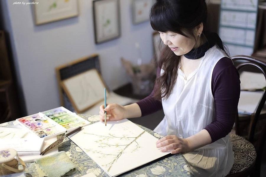 自然を描く ボタニカルアート体験教室