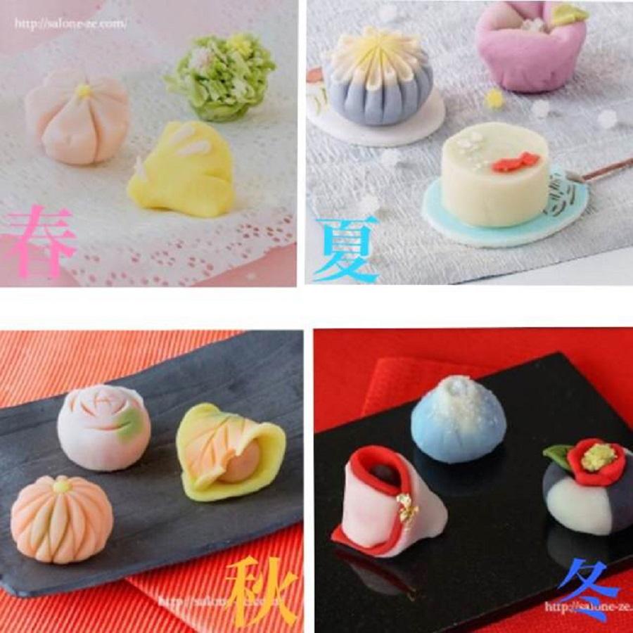 「季節を感じる練りきり和菓子アート教室」