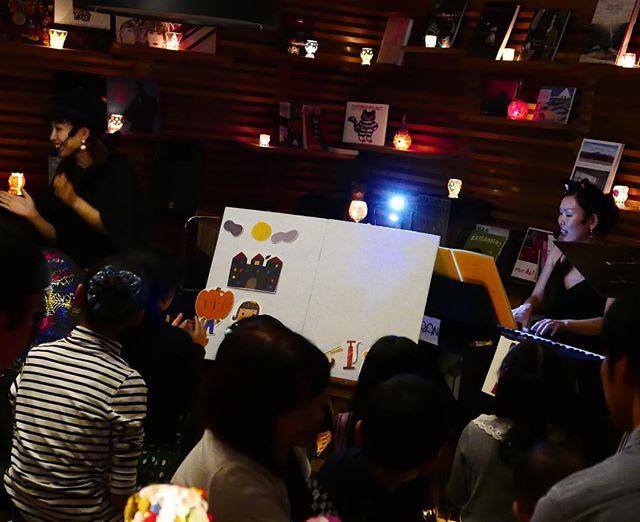 今夜のキャンドルナイト JAZZユニット Fran musicLIVE お子さんもいっぱい盛り上がっています!