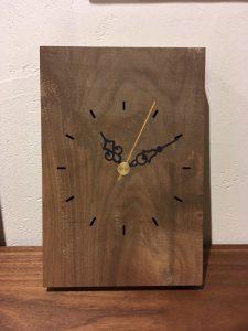 木の時計作りWS写真