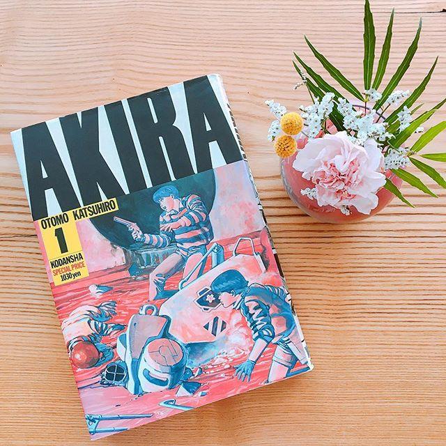 「AKIRA」 懐かしい〜と思う方もいらっしゃるのではないでしょうか? 巻毎にページに色がついているのも特徴のひとつですよね! 他にも食に関するマンガ等多数ご用意! 食事やカフェのひとときにいかがでしょうか? アルタナカフェは本日も10時から17時までのオープンです(^^)