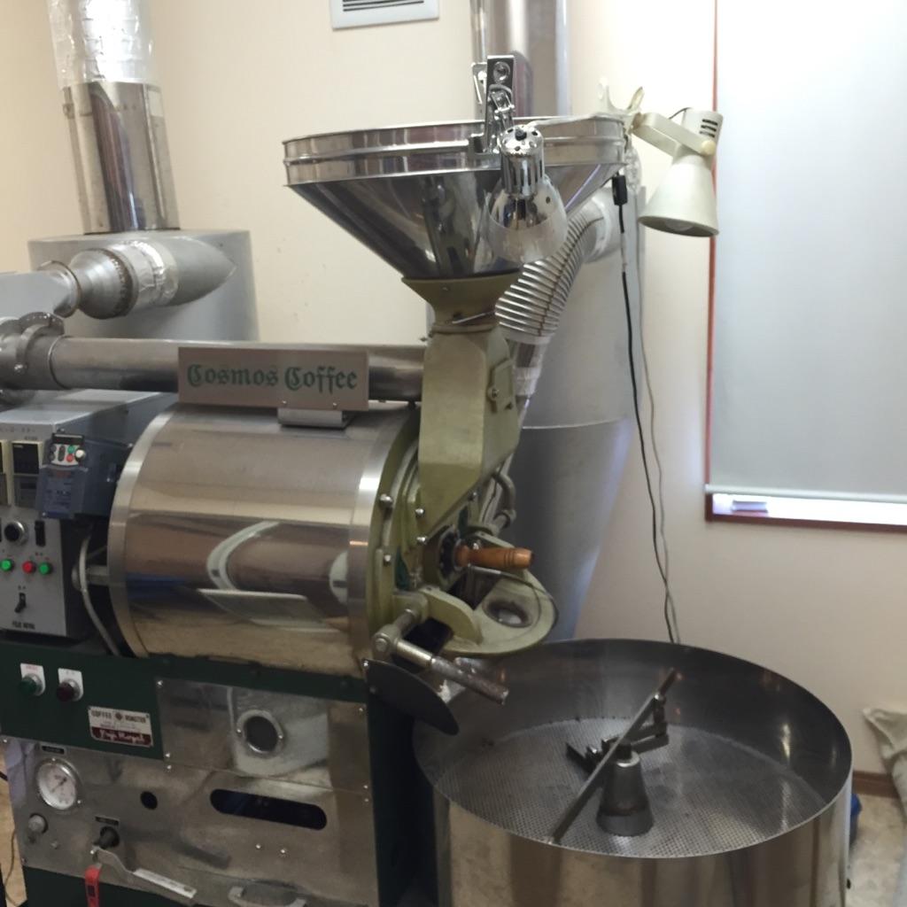 コスモスコーヒー焙煎機