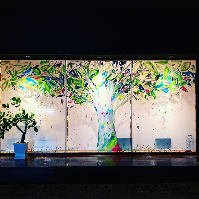 夜のアルタナの樹