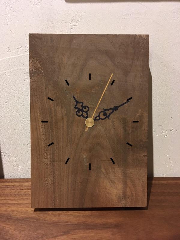木のオリジナル時計作りワークショップ開催しました!