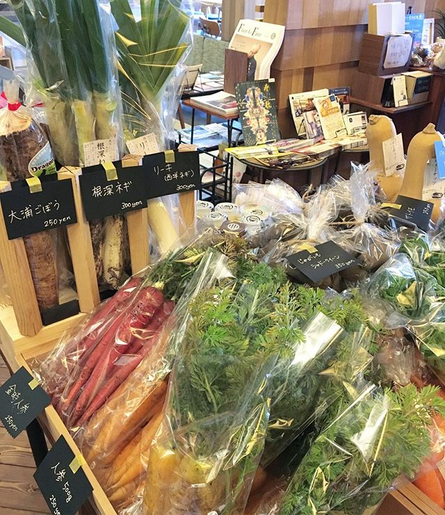 アルタナテーブルマーケット始まりました。 新鮮な野菜と様々なお取り寄せ品をご用意してお待ちしております(^^)