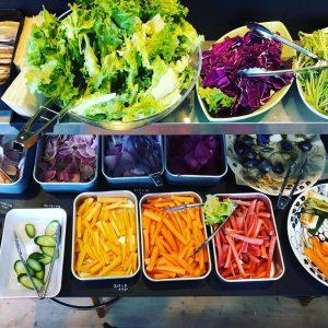 テーブルマーケット野菜バイキング