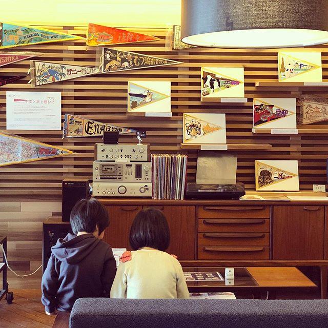 アルタナのラウンジスペースで開催中、アーブル美術館ペナント展「干支と旅と想ひで」は4/25日まで! http://living-d.jp/altana/post-3033/