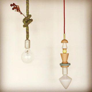 . ◆TRICOTE block pendant light NAVY/GREEN/RED/GRAY 4色展開 ¥13,000+tax ※電球別売 (写真右) 先日入荷いたしました!ころころとした木のパーツが可愛らしいペンダントライト。カラーごとパーツの組み合わせが異なります。 . . ◆TRICOTE knot pendant light NAVY×BROWN/NAVY×YELLOW/GREEN×PINK/ GRAY×YELLOW/GRAY×ORANGE/GRAY×WHITE 6色展開 ¥11,500+tax ※電球別売 (写真左) ニット素材のコードに結び目を作って変化を楽しむペンダントライト。結び目になにかを飾っても◎ .