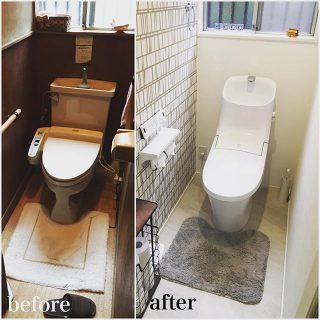 【トイレのデザインリフォーム実例】