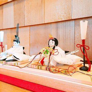 店内に飾ってあるのは 「mikoto雛」さんのお雛様!