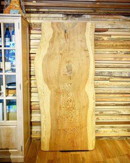 ◆MUKU-TEN 秋田天然杉 W1,800×D780〜885×T70