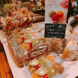 明日3月3日(日)9:00-15:00はテーブルマーケット開催します! 今回初登場のランジェラさんのマドレーヌは贈り物にもピッタリ ホワイトデーにもオススメです。