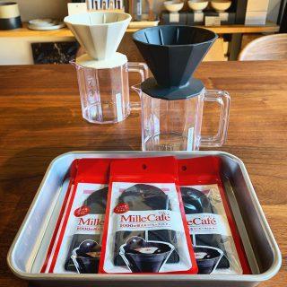 ︎ 1000回使えるコーヒーフィルター エコの国、デンマーク🇩🇰生まれのMille Café。 使い切りと違って何回も(約1000回)使え、ゴミを少なくすることができるコーヒードリップ用フィルターです! ︎ 本日11/1(金)17時まで営業中!