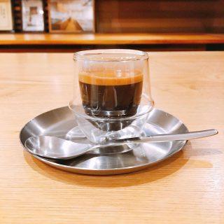 「エスプレッソ」 LA CIMBALIのエスプレッソマシンで淹れたエスプレッソ! 食後にスッキリといかがでしょうか? アルタナカフェは本日16時までの営業とさせていただきます。