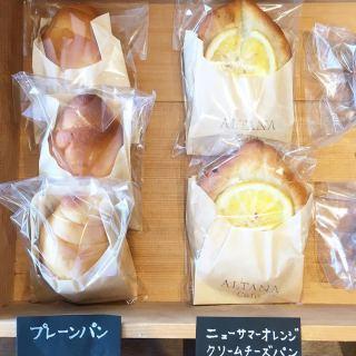 本日パン2種販売しております️ ・プレーン ・ニューサマーオレンジクリームチーズ パンの他にスコーンのご用意もございます! スコーン ・紅茶&ホワイトチョコ ・バターミルク ・抹茶&ホワイトチョコ ・チョコナッツ ・パイナップル 店内でのお召し上がり、テイクアウトにご利用ください